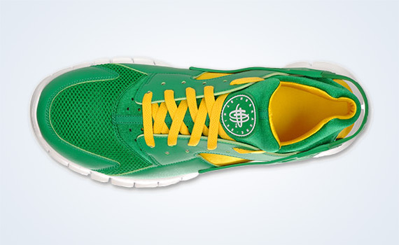 ae2fb3580a1 Nike Huarache Free 2012. Court Green White-Tour Yellow 487654-338  100.  Advertisement. show comments