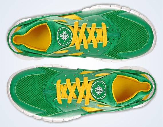 17a49f139a6 Nike Huarache Free 2012 - Court Green - White - Tour Yellow ...
