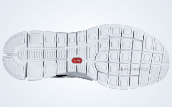 Nike Free Run Huarache 2012 Homard Blanc / Rouge Équipe Blanche sUGlE1