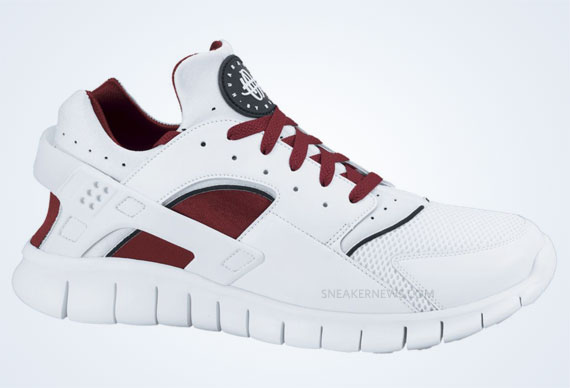 finest selection 8e77b a39be Nike Huarache Free 2012 - White - Team Red - SneakerNews.com