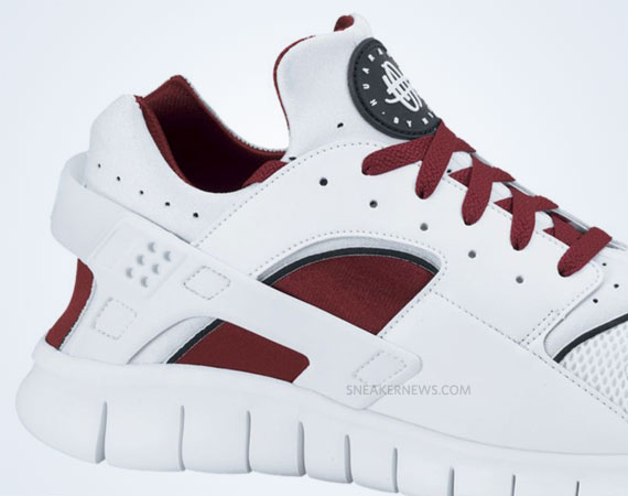 84896cbfb4c9 Nike Huarache Free 2012 - White - Team Red - SneakerNews.com