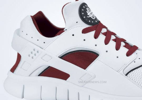 Nike Huarache Free 2012 – White – Team Red