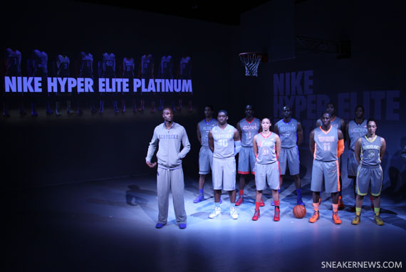 Nike Hyper Elite Platinum Basketball Uniforms - SneakerNews com