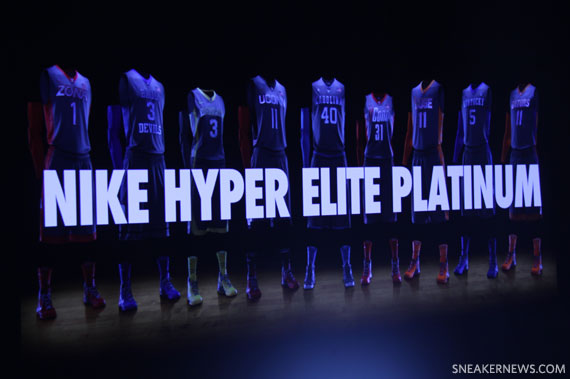 nike hyper elite platinum basketball uniforms