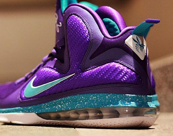 meet 7280c e8065 Nike LeBron 9  Summit Lake Hornets  – New Images