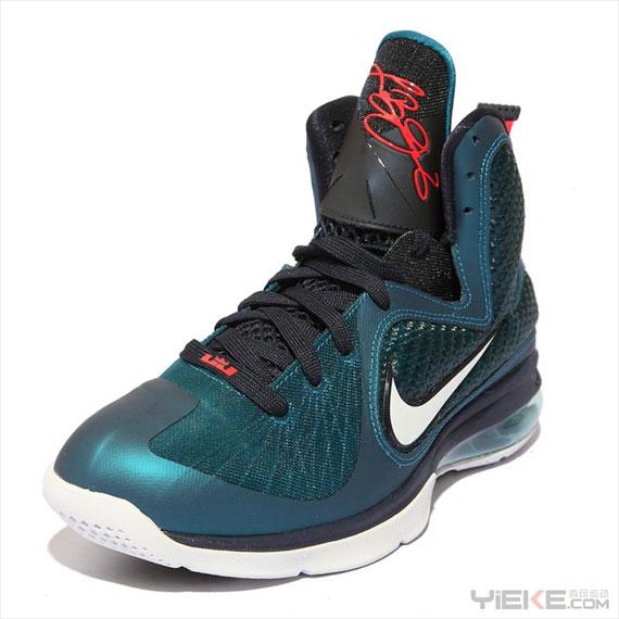 sports shoes a0416 11b1f Nike LeBron 9  Swingman  - Spring Colorway - SneakerNews.com