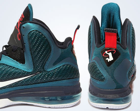 size 40 6ad66 7d49c Nike LeBron 9 'Swingman' - Spring Colorway - SneakerNews.com