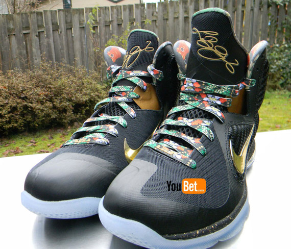 Nike LeBron 9  Watch The Throne  - Available on eBay - SneakerNews.com 087c3e591