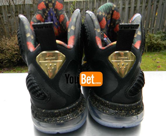 Nike LeBron 9 Elite; Shop this Article; LeBron James wearing the Watch the  Throne ...