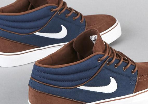 c664fe3d45b709 Nike SB Zoom Stefan Janoski Mid – Dark Slate – Sandalwood – Gum Medium Brown