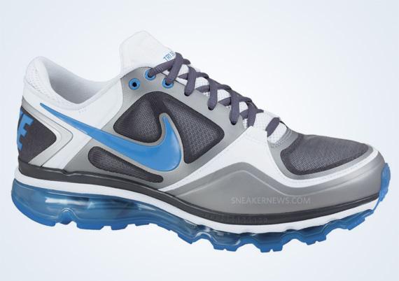 63022e946 Nike Trainer 1 3 Max Dark Grey Photo Blue Matte Silver White new ...