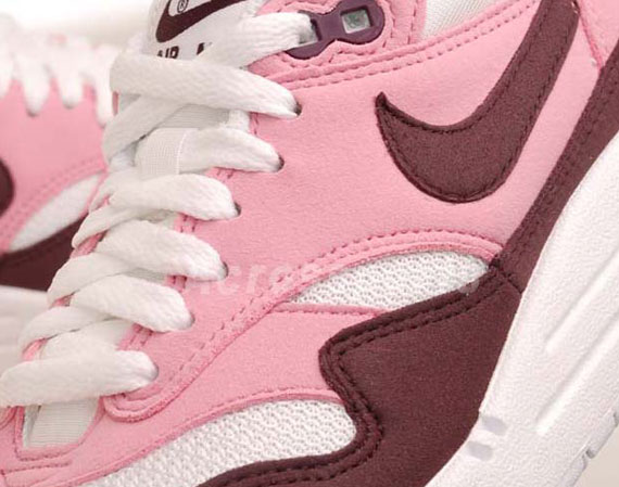 timeless design 396b8 729fc Nike WMNS Air Max 1 – Pink Cooler – Red Mahogany – White – Gym Red