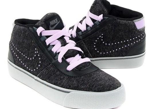 the latest 03b6d 54d2d Nike WMNS Hachi – Black Denim – Lavender