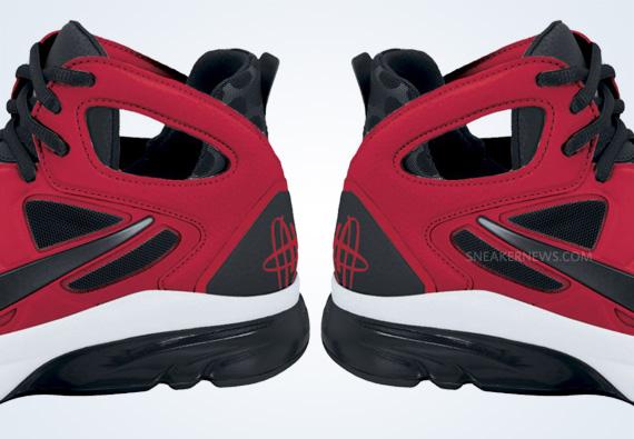 save off 35a57 db14f Nike Zoom Huarache TR Mid 2 - Sport Red - Black - White ...