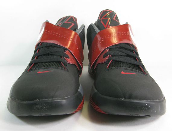 size 40 418aa b913b Nike Zoom KD IV Black White-Varsity Red 473679-003  95. Advertisement. show  comments