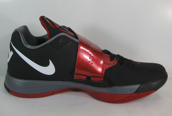 Kd 6 Red Black And White Nike zoom kd iv black white