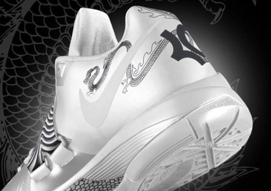 Nike Zoom KD IV iD 'Year of the Dragon'