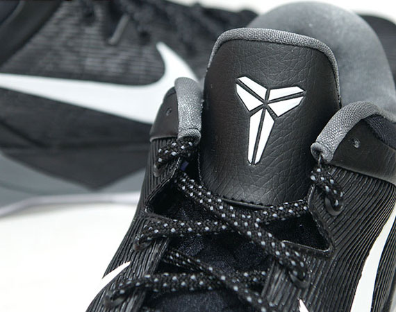 competitive price 72af7 9e108 Nike Zoom Kobe VII – Black – White – Wolf Grey – Cool Grey