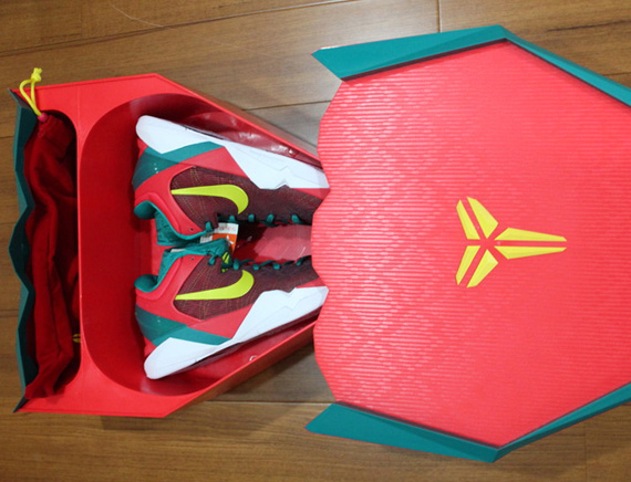 Nike Zoom Kobe VII 'YOTD' Special Packaging - New Images ...