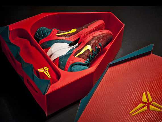 Nike Zoom Kobe VII Year Of The Dragon Special Packaging