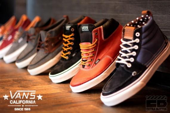 Vans California Spring 2012 Footwear