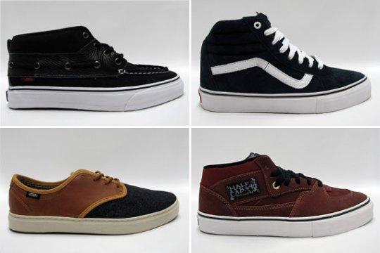 Vans January 2012 Footwear – Available