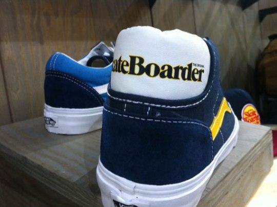 Skateboarder Magazine x Vans Collection