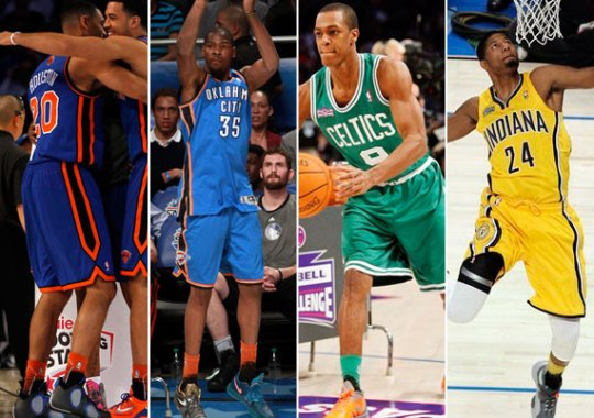 NBA Feet: 2012 All-Star Weekend – Saturday Night Recap