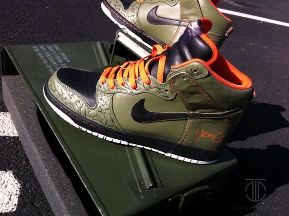 Nike Dunk High 'UNDRDG' Customs by ROM