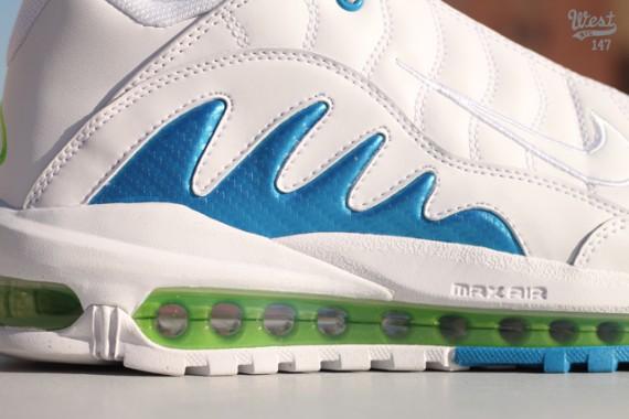e986a00a09 Nike Air Max Griffey 99 - White - Neptune Blue - Action Green ...