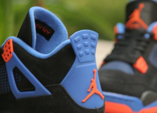 Air Jordan IV 'Cavs' – Detailed Images