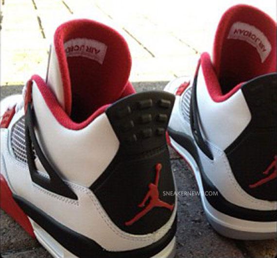 reputable site bd790 3a3e9 Air Jordan IV  Fire Red  2012 Retro - SneakerNews.com