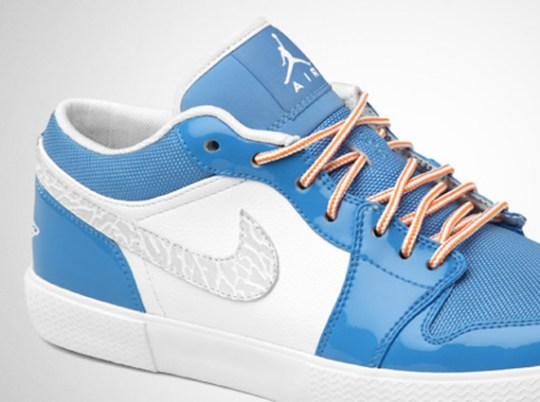 Air Jordan Retro V.1 – White – Italy Blue – University Blue – Vivid Orange