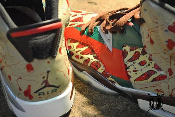 Air Jordan VI  Krueger  Customs by El Cappy - SneakerNews.com f0dcd8e2cd4