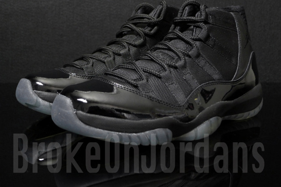 detailed look bf6ac d1a63 jordan 11s all black