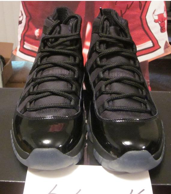 free shipping 8bd1c 52d6f ... france air jordan xi blackout new images sneakernews b504c b2c30