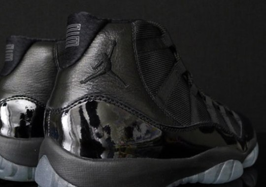 ea8a70add04 Air Jordan XI 'Blackout' - SneakerNews.com