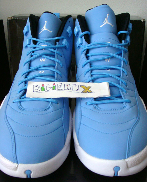 7a465b3c13f976 Air Jordan XII  Pantone  Sample - Available on eBay - SneakerNews.com
