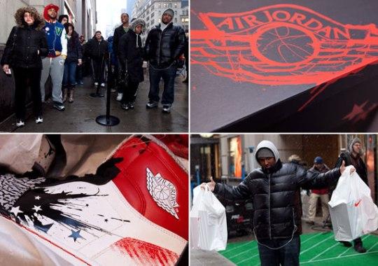 Dave White x Air Jordan 1 – NikeTown NYC Release Recap