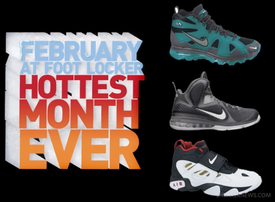 Foot Locker Presents 'Stay Cool During The Hottest Month Ever' Sweepstakes