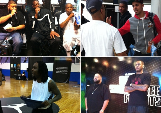Jordan Brand Athletes & Celebrity Sightings @ All-Star Weekend