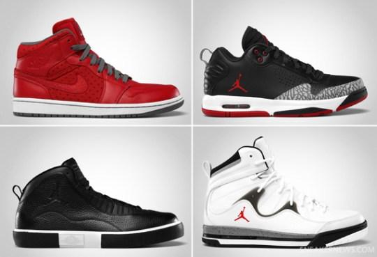 Jordan Brand March 2012 Footwear