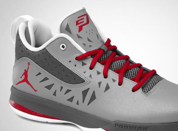 Jordan CP3.V Stealth Varsity Red Light Graphite White