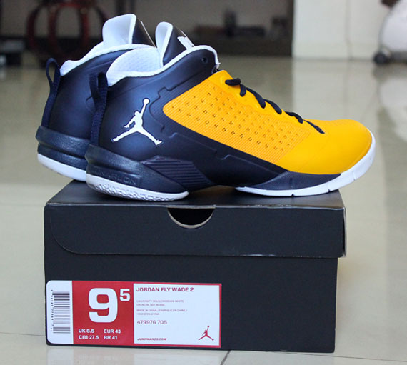 newest collection f3918 b9eb8 Jordan Fly Wade 2  Marquette  - SneakerNews.com