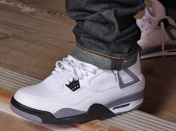 81fd8acf Air Jordan 4 Retro - White - Grey | Another Look - SneakerNews.com
