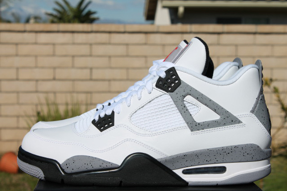 1dc0ff9ba65b Air Jordan IV  White Cement  - Release Reminder - SneakerNews.com