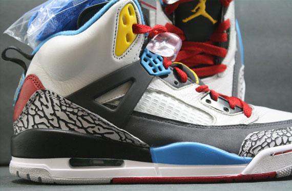 Air Jordan Spizike Do The Right Thing White Var Red Argo shoes