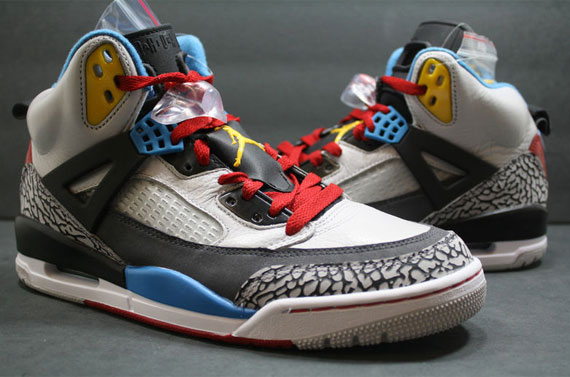 online store 91202 41e22 Air Jordan Spizike Bordeaux Neutral Grey Varsity Maize D shoes