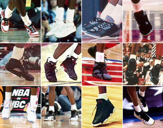 michael jordan all shoes