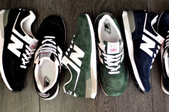 New Balance M576 'Made in England' – Spring 2012 Colorways